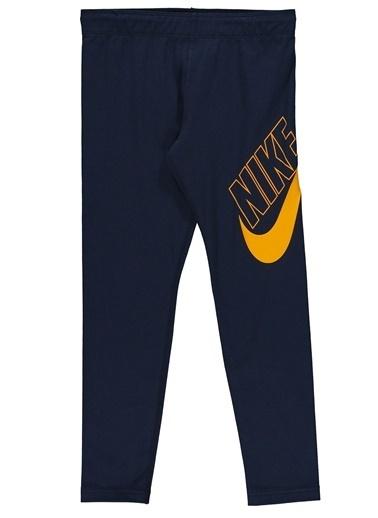 Nike Nike CU8943451 G Nsw Favorites Gx Legging Obsidian University  Tayt Antrasit